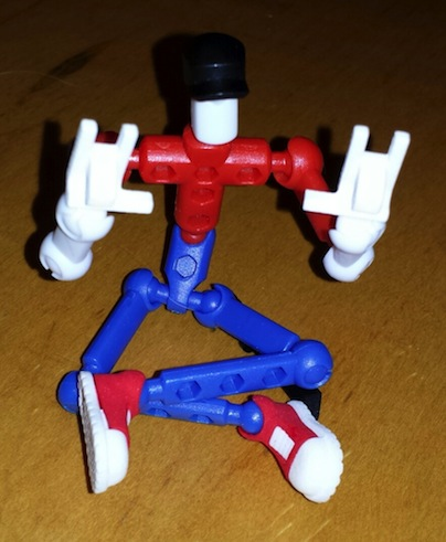 Modibot with devil-horn hands!