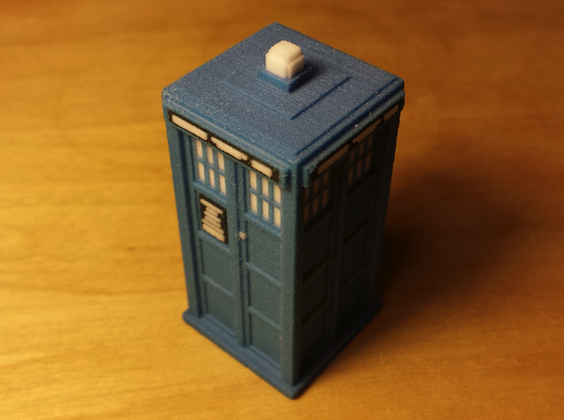 Small model of a Tardis
